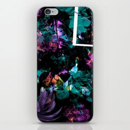 Power Floral iPhone Skin