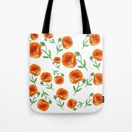 Poppies Magic Tote Bag