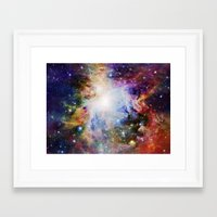 nebula Framed Art Prints featuring NEBulA by 2sweet4words Designs