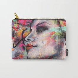 Urban-Girl Original Painting Carry-All Pouch
