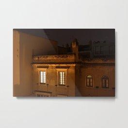 rua sao felix window (the lisbon series) Metal Print