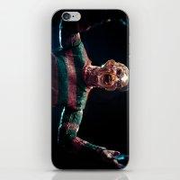 freddy krueger iPhone & iPod Skins featuring Freddy Krueger by TJAguilar Photos