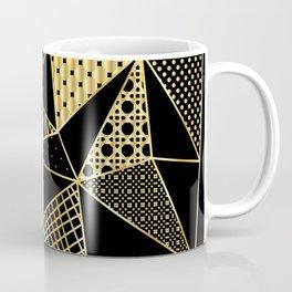 gold geometric with pattern Coffee Mug