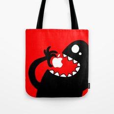 apple eater Tote Bag