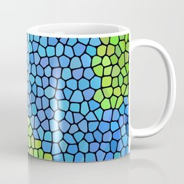 Planet Earth (Stained Glass) Coffee Mug