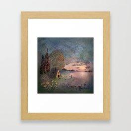 Cabin Dream Framed Art Print