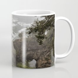 Fog Over Natural Bridges Coffee Mug