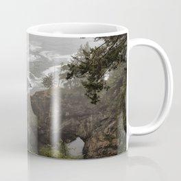 Fog Over Natural Bridges Coffee Mug
