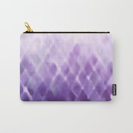 Diamond Fade in Violet Carry-All Pouch