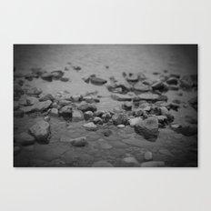 the shallows // river rocks Canvas Print