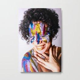 Anita Feather. Metal Print