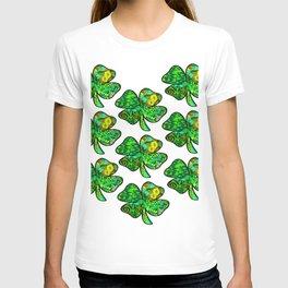 Retro Shamrock Tile T-shirt