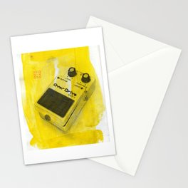 Overdrive Pedal Stationery Cards
