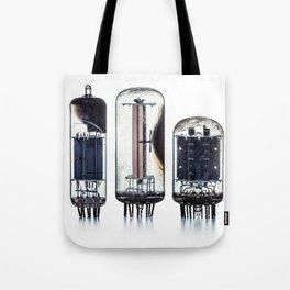 Vintage  Vacuum Tubes Tote Bag
