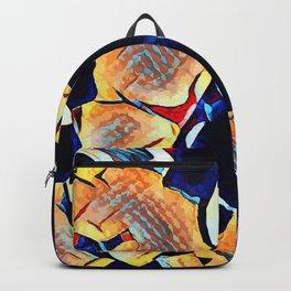 Hot Lava ~ Bone Backpack
