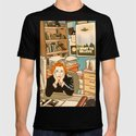 Dana Scully sit to the Fox Mulder's office by mimie20