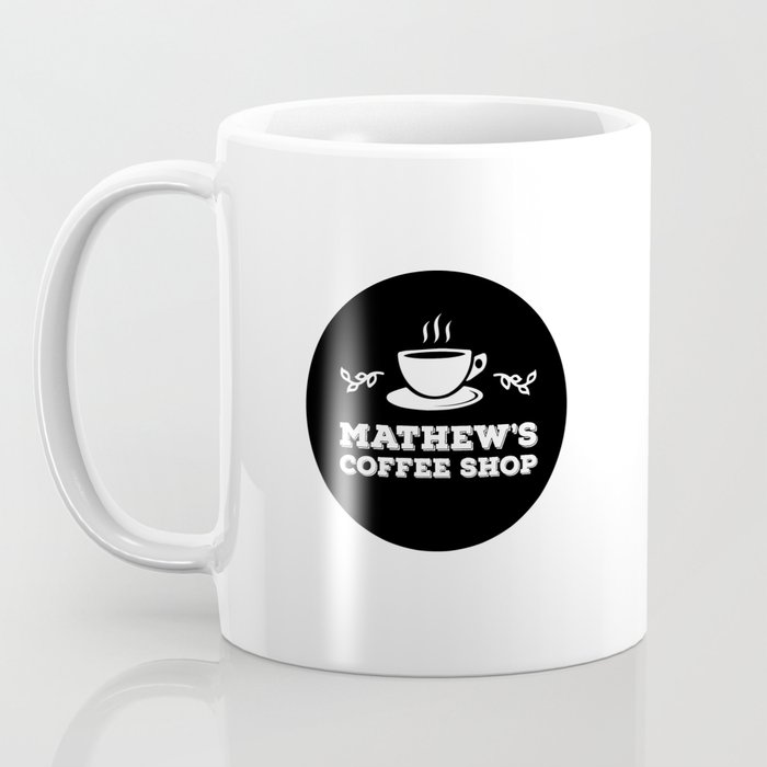 Mathew's Coffee Shop Coffee Mug