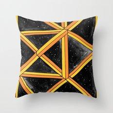 geo galaxy Throw Pillow