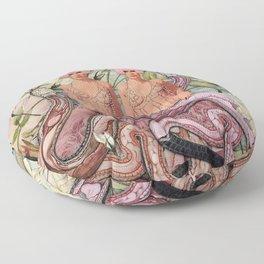 Serpent Soul Floor Pillow