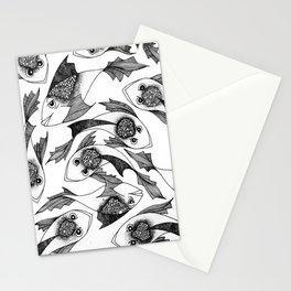 Fish Paradigm Stationery Cards