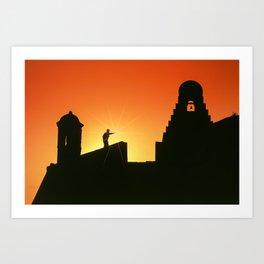 Fortress of San Felipe in Cartagena de Indias Art Print