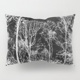 Black and white tree photography - Watercolor series #9 Pillow Sham