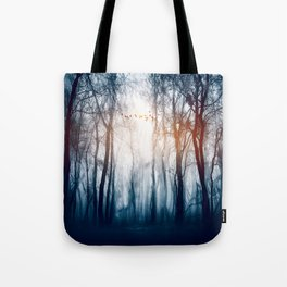 Morning Colours Tote Bag