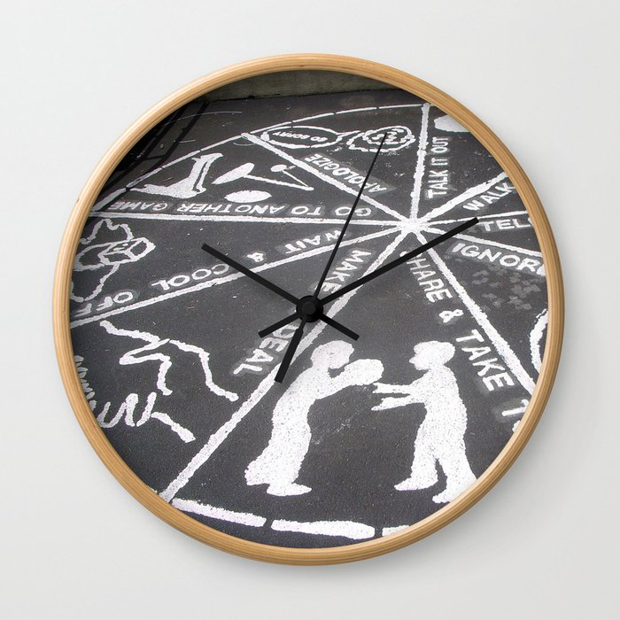 Life Lessons Wall Clock
