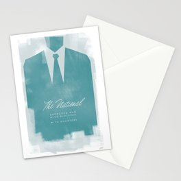 The National - Blue Blazered Stationery Cards
