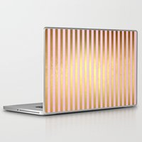 striped Laptop & iPad Skins featuring Striped by Better HOME