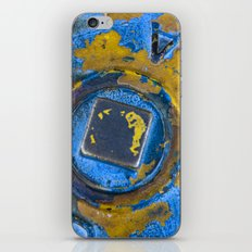 Blue and Yellow iPhone & iPod Skin