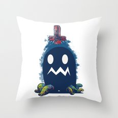 Glow In The Dark Throw Pillow