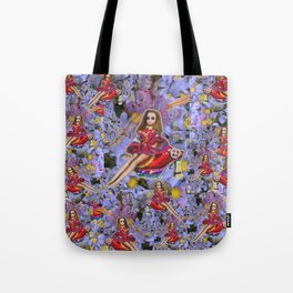JOuRNeY into WONDERLAND, get WOWED by tHE wHImSiCal PEaCOck! Tote Bag