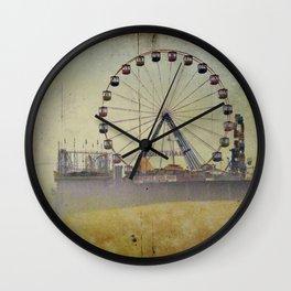 Seaside Heights New Jersey Wall Clock