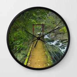 Kawazu waterfall trail, Izu Peninsula, Japan Wall Clock