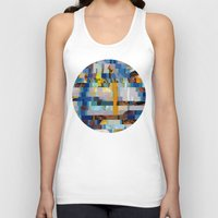 transformer Tank Tops featuring Up The Creek Without A Poodle (Provenance Series) by Wayne Edson Bryan