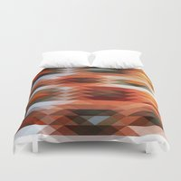triangle Duvet Covers featuring Triangle by Fine2art