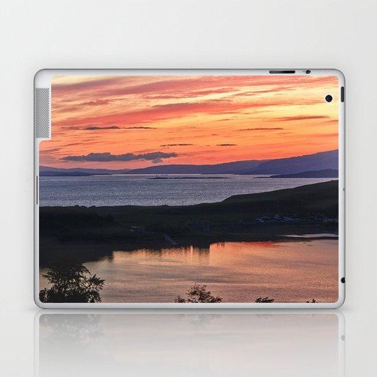 Oban Sunset Laptop & iPad Skin