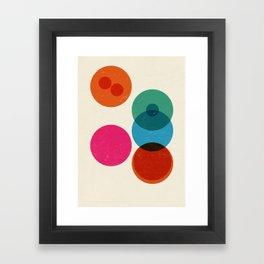 Division II Framed Art Print