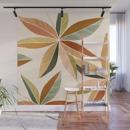 Autumn Japanese Maple / Botanical Design Wall Mural