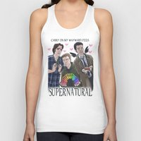 enerjax Tank Tops featuring Carry on my Wayward Feels by enerjax