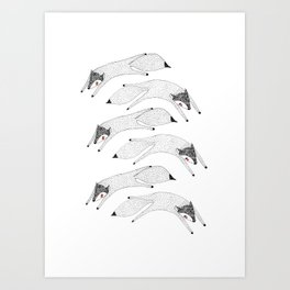 Lets Fly Away Art Print