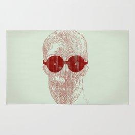 Unravel skull Rug