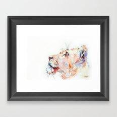 I belong in Africa ... Lion Framed Art Print