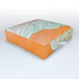 Coral Shore #photography #digitalart Outdoor Floor Cushion