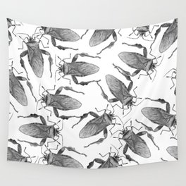 Stink Bugs Entomology Crawling Insect Wall Tapestry