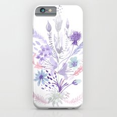 Colorful flowers iPhone 6s Slim Case
