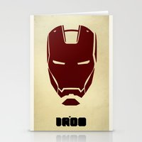 ironman Stationery Cards featuring IRONMAN by agustain