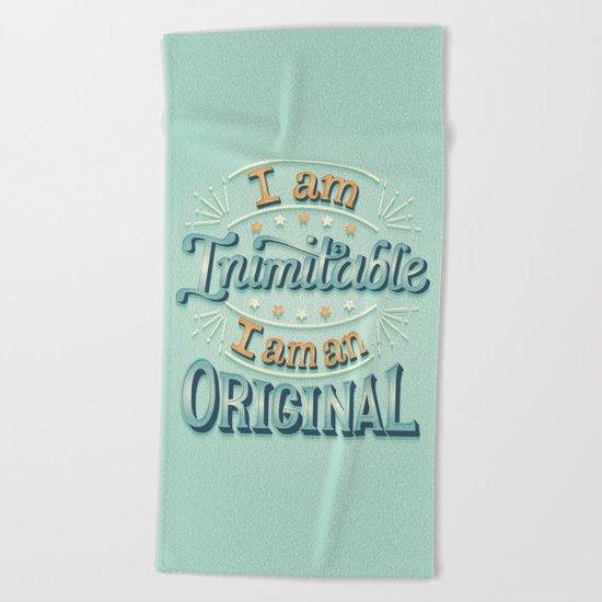 I am an original Beach Towel