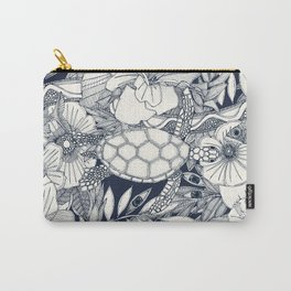 I see Hawaii indigo Carry-All Pouch